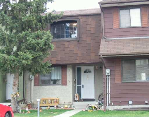 Main Photo:  in CALGARY: Marlborough Park Townhouse for sale (Calgary)  : MLS®# C3208785