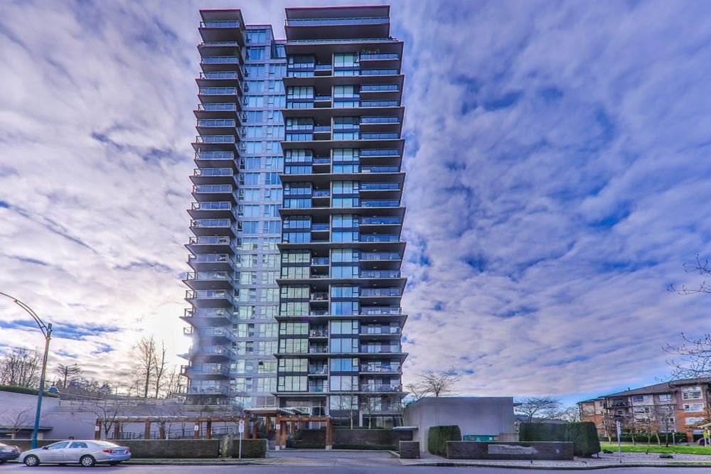 "Main Photo: 703 651 NOOTKA Way in Port Moody: Port Moody Centre Condo for sale in ""SAHALEE"" : MLS®# R2425381"