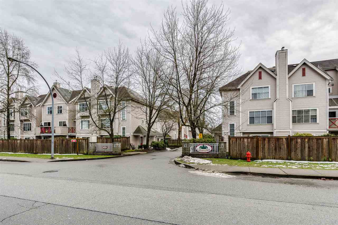 "Main Photo: 52 2450 HAWTHORNE Avenue in Port Coquitlam: Central Pt Coquitlam Townhouse for sale in ""COUNTRY PARK ESTATE"" : MLS®# R2435805"
