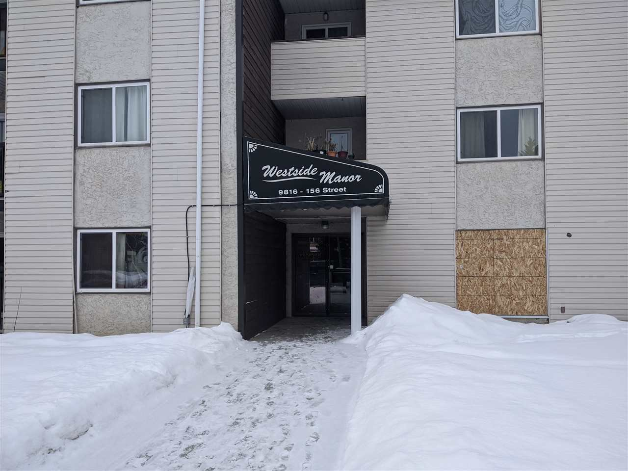 Main Photo: 311 9816 156 Street in Edmonton: Zone 22 Condo for sale : MLS®# E4189268