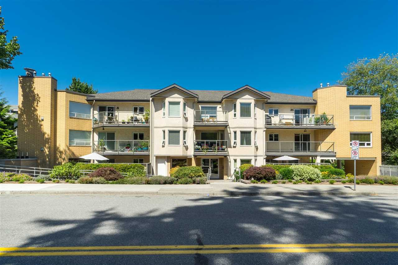 "Main Photo: 210 15255 18 Avenue in Surrey: King George Corridor Condo for sale in ""THE COURTYARD"" (South Surrey White Rock)  : MLS®# R2483046"
