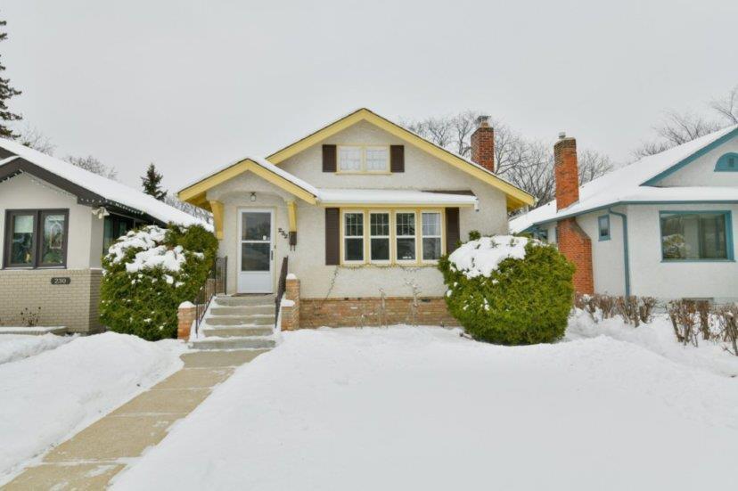 Main Photo: 232 Borebank Street in Winnipeg: Residential for sale (1C)  : MLS®# 202002021