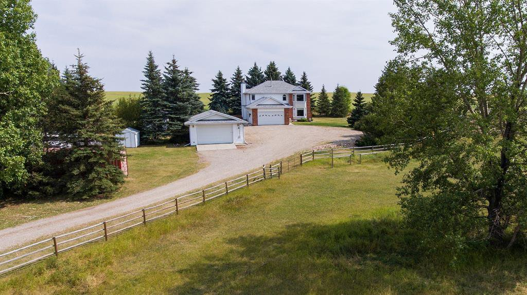 Main Photo: 231009 Hwy 817: Rural Wheatland County Detached for sale : MLS®# A1025412