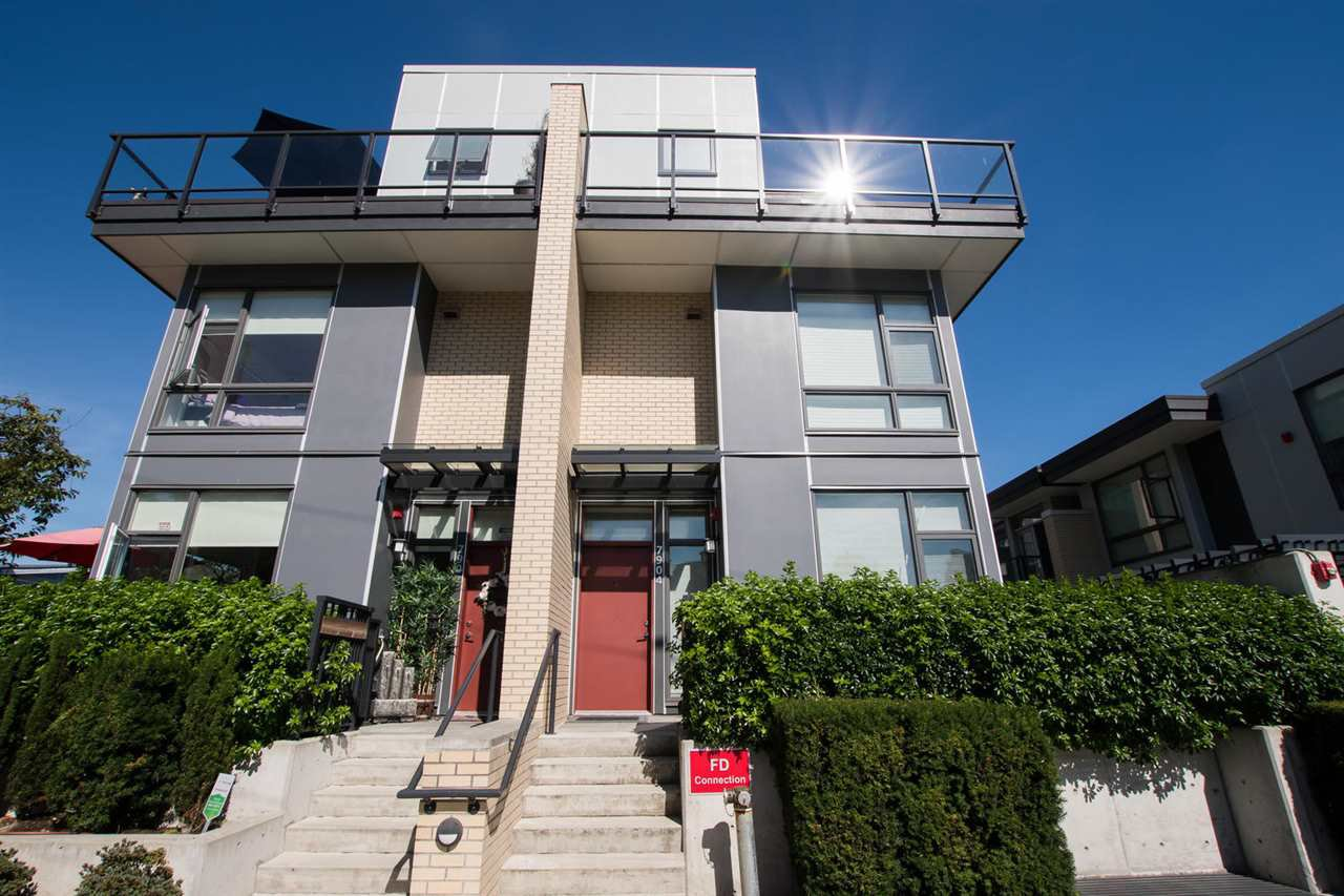 "Main Photo: 7904 MANITOBA Street in Vancouver: Marpole Townhouse for sale in ""Churchill"" (Vancouver West)  : MLS®# R2519634"