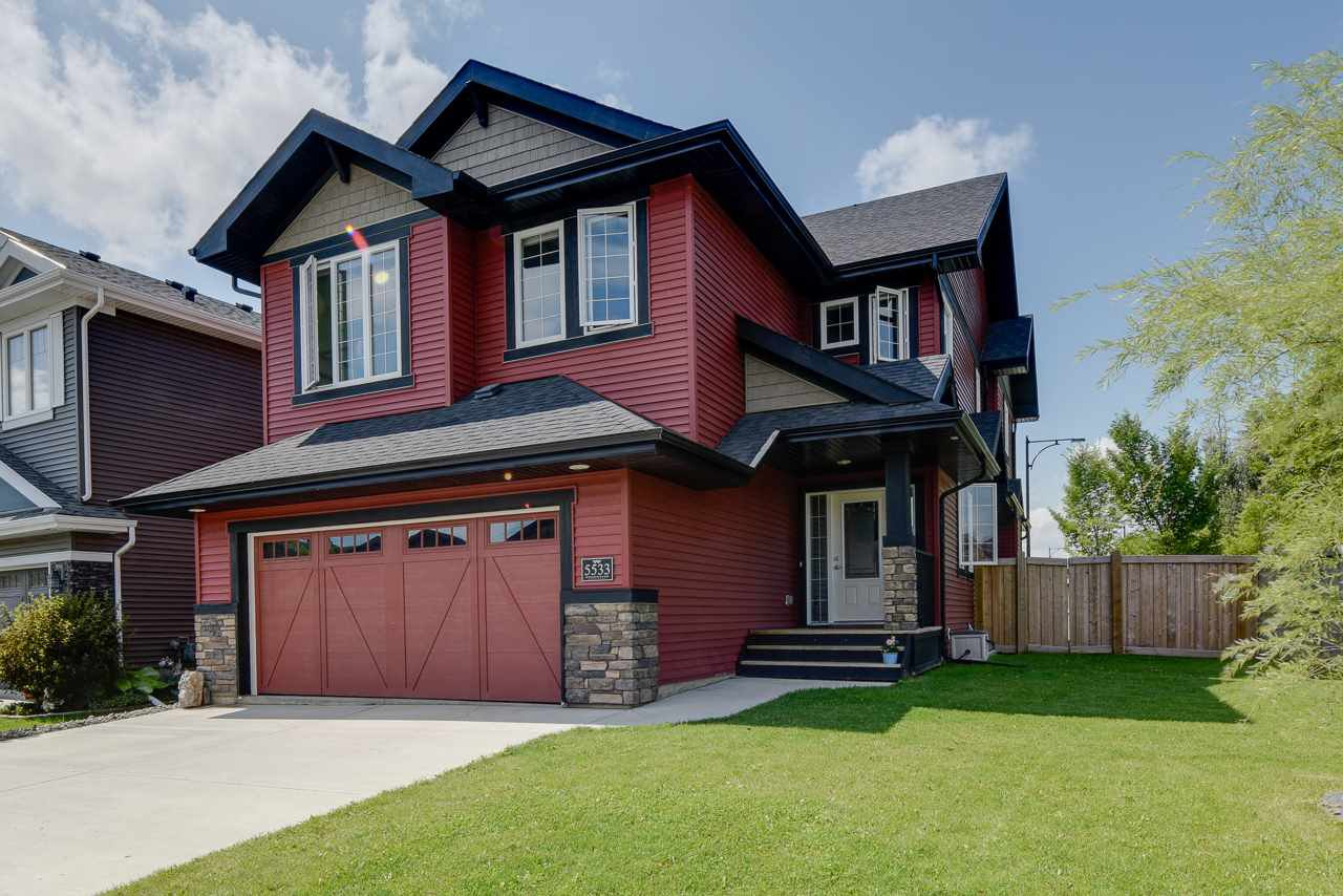 Main Photo: 5533 EDWORTHY Way in Edmonton: Zone 57 House for sale : MLS®# E4208793