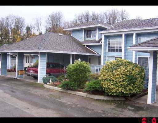 """Main Photo: 75 34959 OLD CLAYBURN RD in Abbotsford: Abbotsford East Townhouse for sale in """"Crown Point Villas"""" : MLS®# F2525165"""