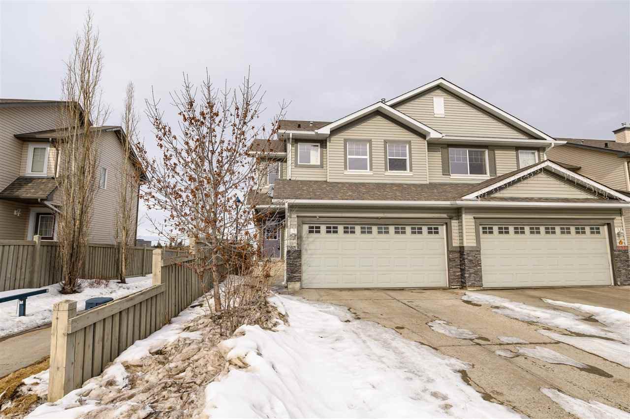 Main Photo: 1654 MELROSE Place in Edmonton: Zone 55 House Half Duplex for sale : MLS®# E4191035