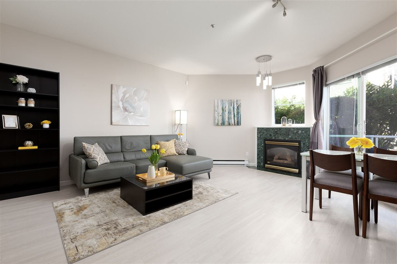 """Main Photo: 19 2713 E KENT AVENUE NORTH Avenue in Vancouver: South Marine Townhouse for sale in """"Riverside Gardens"""" (Vancouver East)  : MLS®# R2496418"""
