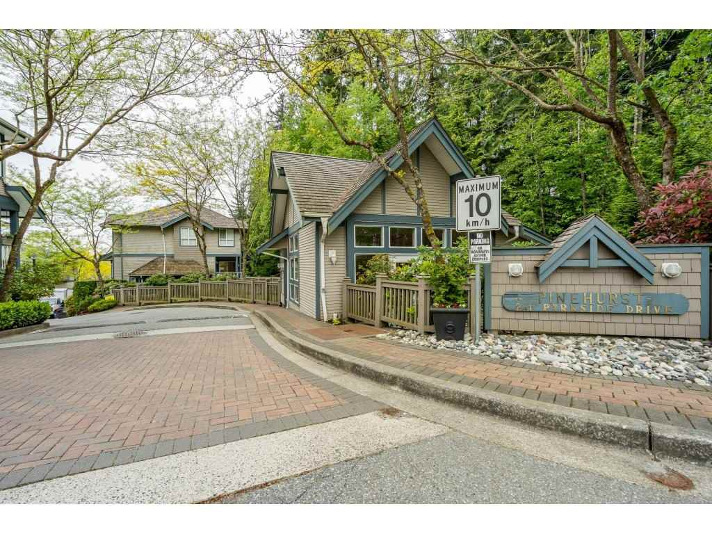 """Main Photo: 31 241 PARKSIDE Drive in Port Moody: Heritage Mountain Townhouse for sale in """"PINEHURST"""" : MLS®# R2457042"""