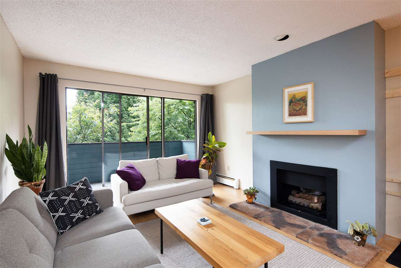 "Main Photo: 208 1516 CHARLES Street in Vancouver: Grandview Woodland Condo for sale in ""Garden Terrace"" (Vancouver East)  : MLS®# R2464905"