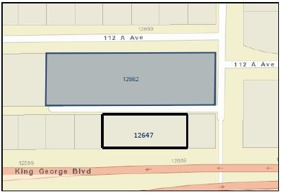 Photo 2: Photos: 12647 King George Boulevard in Surrey: Retail for sale