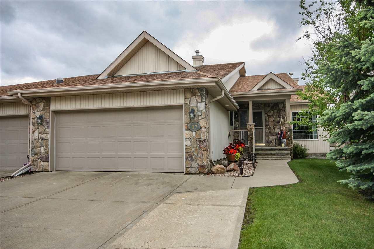 Main Photo: 17 925 Picard Drive in Edmonton: Zone 58 House Half Duplex for sale : MLS®# E4186523