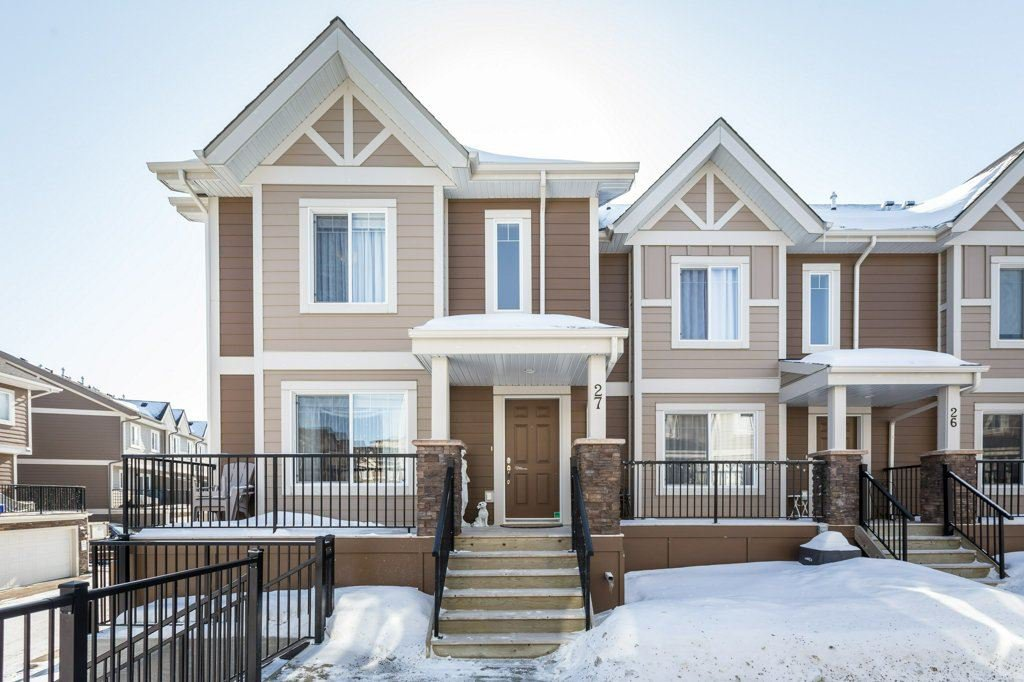 Main Photo: 27 1150 Windemere Way in Edmonton: Zone 56 Townhouse for sale : MLS®# E4191738