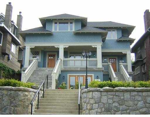 Main Photo: 2560 YORK Avenue in Vancouver: Kitsilano Townhouse for sale (Vancouver West)  : MLS®# V589848