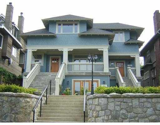 Main Photo: 2560 YORK AV in Vancouver: Kitsilano Townhouse for sale (Vancouver West)  : MLS®# V589848