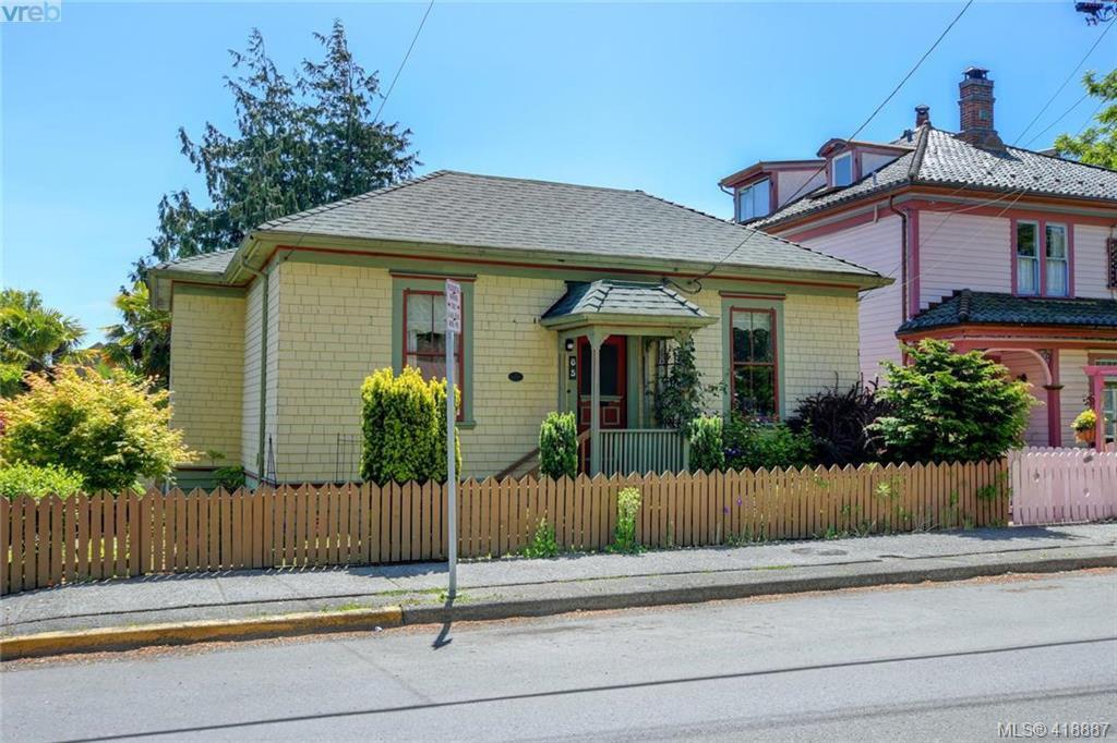 Main Photo: 65 Oswego St in VICTORIA: Vi James Bay House for sale (Victoria)  : MLS®# 829037