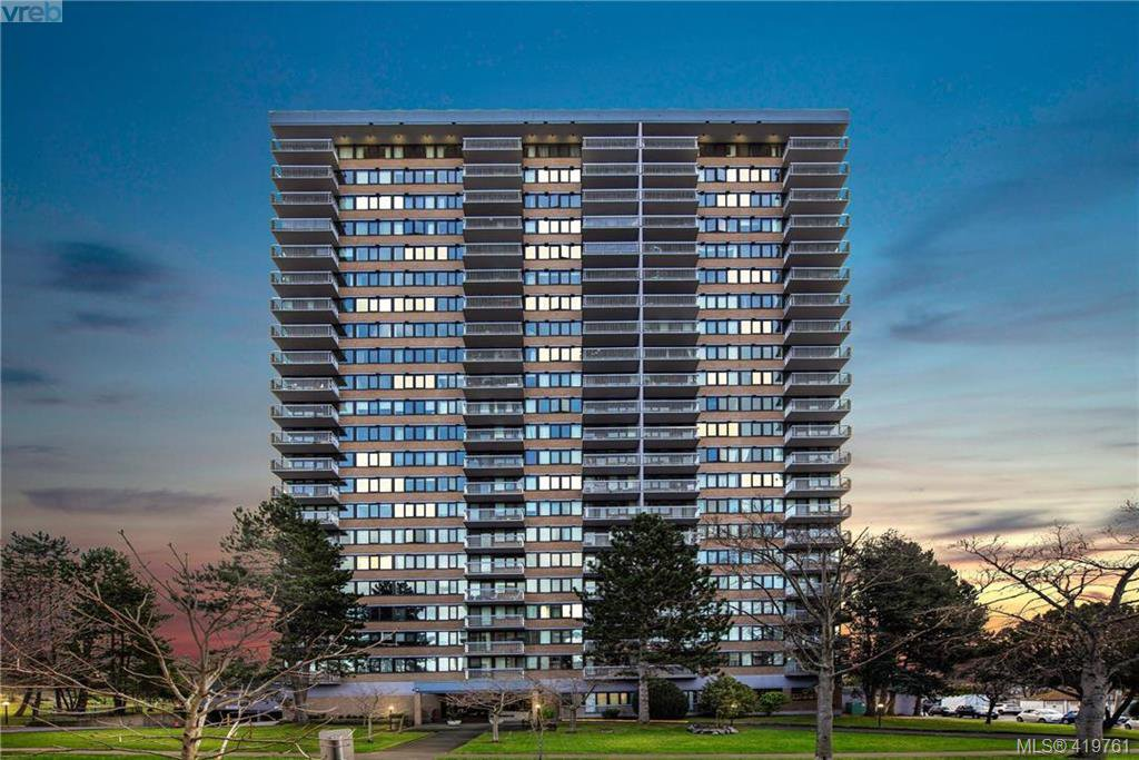 Main Photo: 1604 647 Michigan Street in VICTORIA: Vi James Bay Condo Apartment for sale (Victoria)  : MLS®# 419761