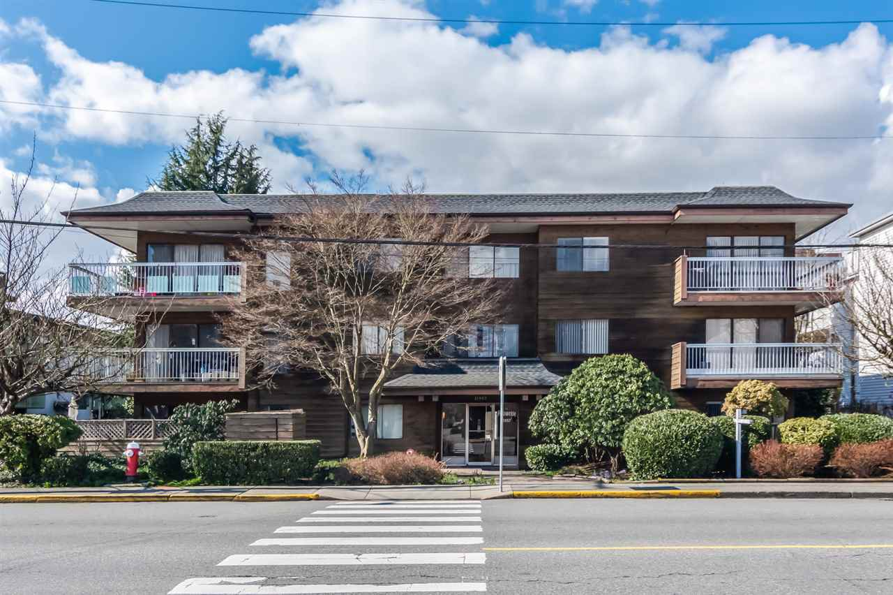 "Main Photo: 101 11957 223 Street in Maple Ridge: West Central Condo for sale in ""ALOUETTE APARTMENTS"" : MLS®# R2444451"