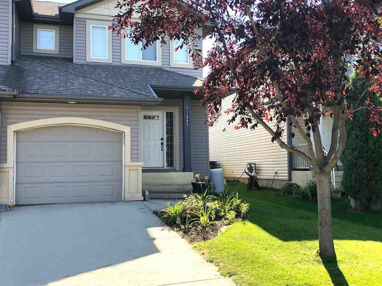 Main Photo: 11909 21 Avenue in Edmonton: Zone 55 House Half Duplex for sale : MLS®# E4208493