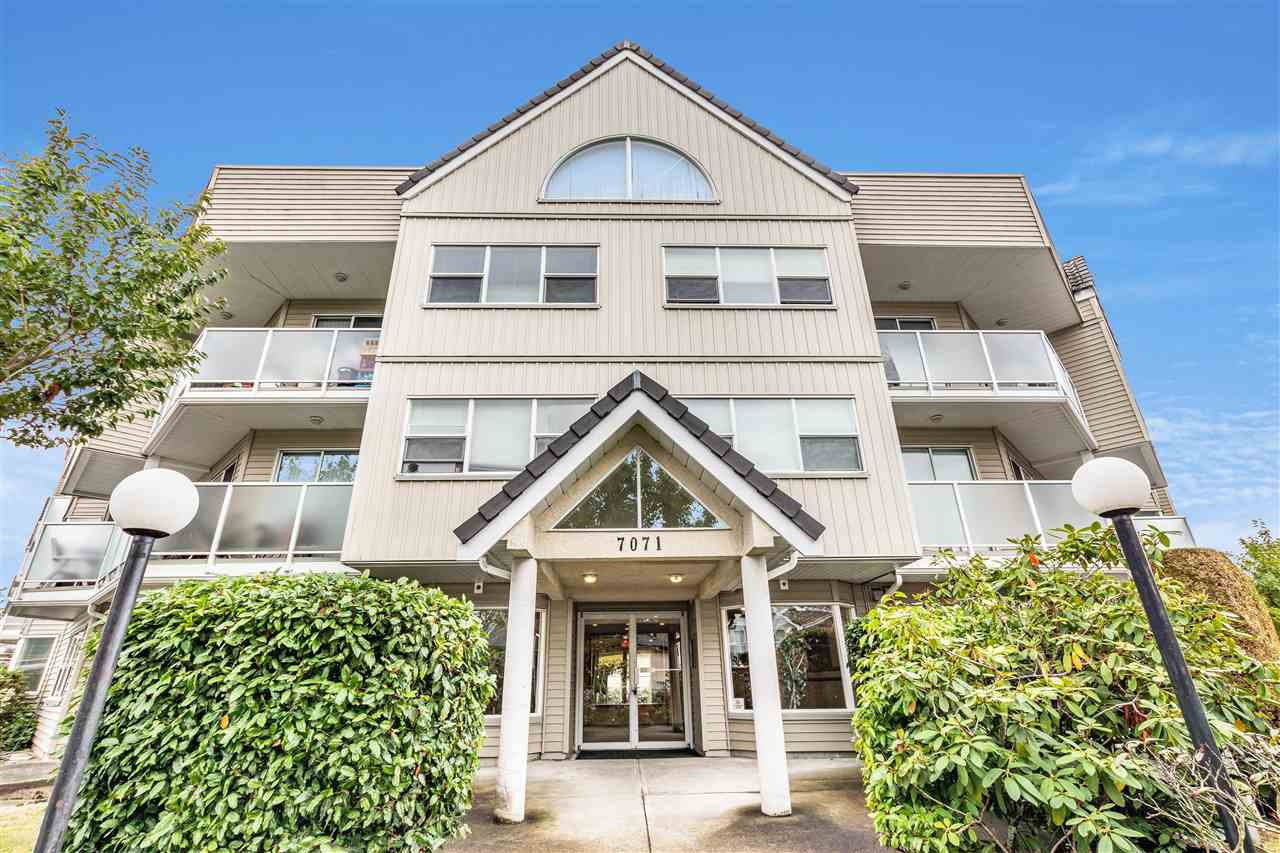 Main Photo: 101 7071 BLUNDELL Road in Richmond: Brighouse South Condo for sale : MLS®# R2408132