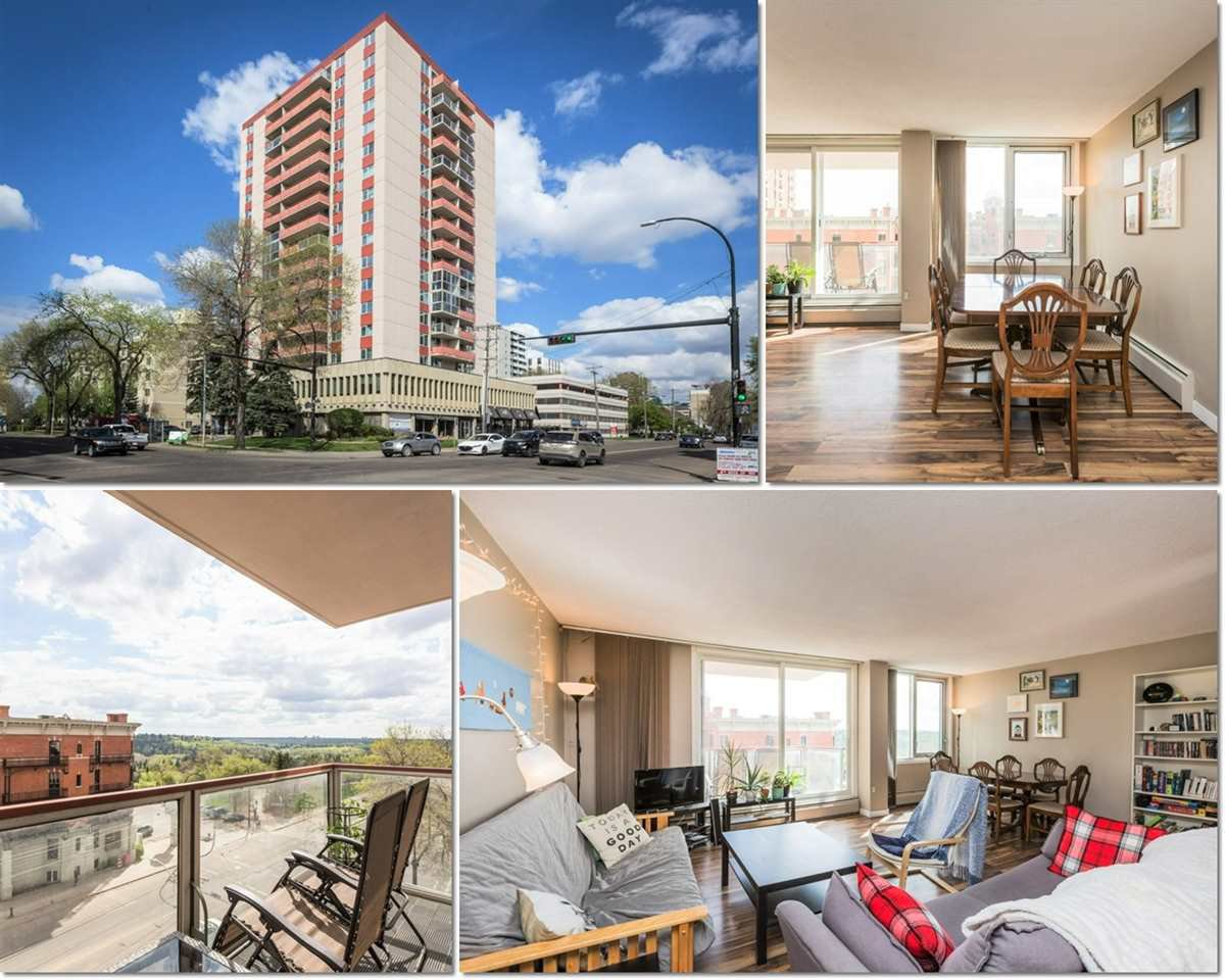 Main Photo: 505 10011 116 Street in Edmonton: Zone 12 Condo for sale : MLS®# E4200203