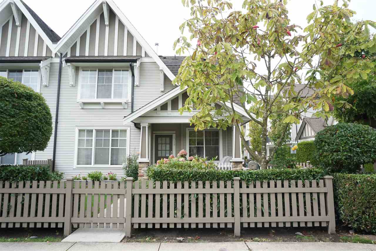 Main Photo: 10 7233 HEATHER STREET in Richmond: McLennan North Townhouse for sale ()  : MLS®# R2111550