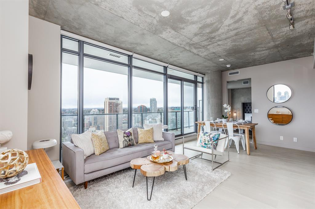 Main Photo: 1308 1010 6 Street SW in Calgary: Beltline Apartment for sale : MLS®# A1050371
