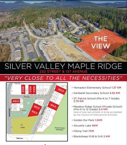 Main Photo: 13662 BLANEY ROAD in Maple Ridge: Silver Valley Land for sale : MLS®# R2392933