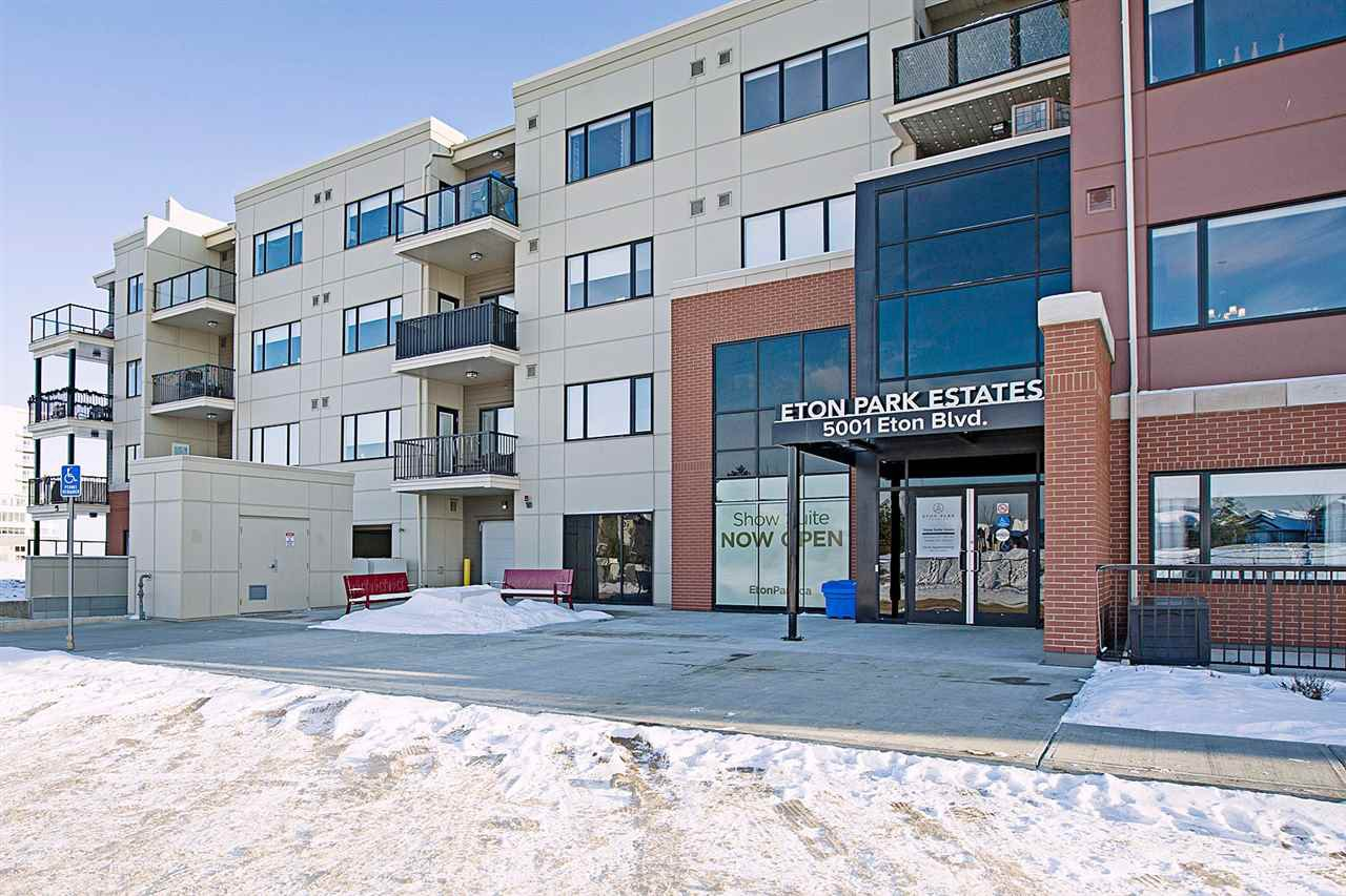 Main Photo: 101 5001 ETON Boulevard: Sherwood Park Condo for sale : MLS®# E4172695