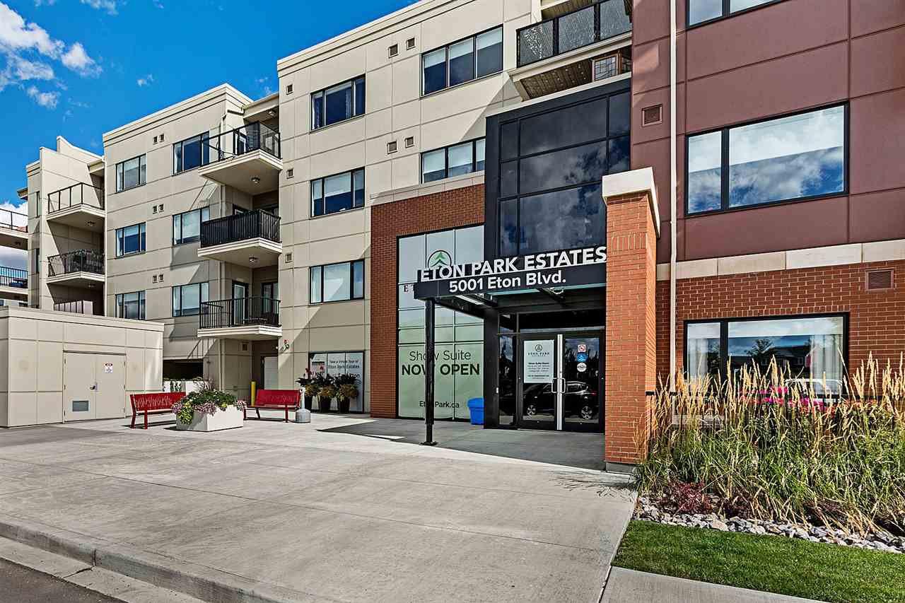 Main Photo: 101 5001 ETON Boulevard: Sherwood Park Condo for sale : MLS®# E4172695