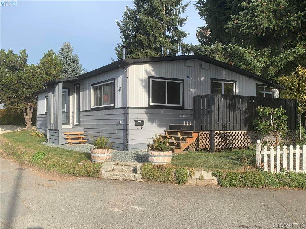 Main Photo: 40 2847 Sooke Lake Road in VICTORIA: La Goldstream Manu Double-Wide for sale (Langford)  : MLS®# 417713