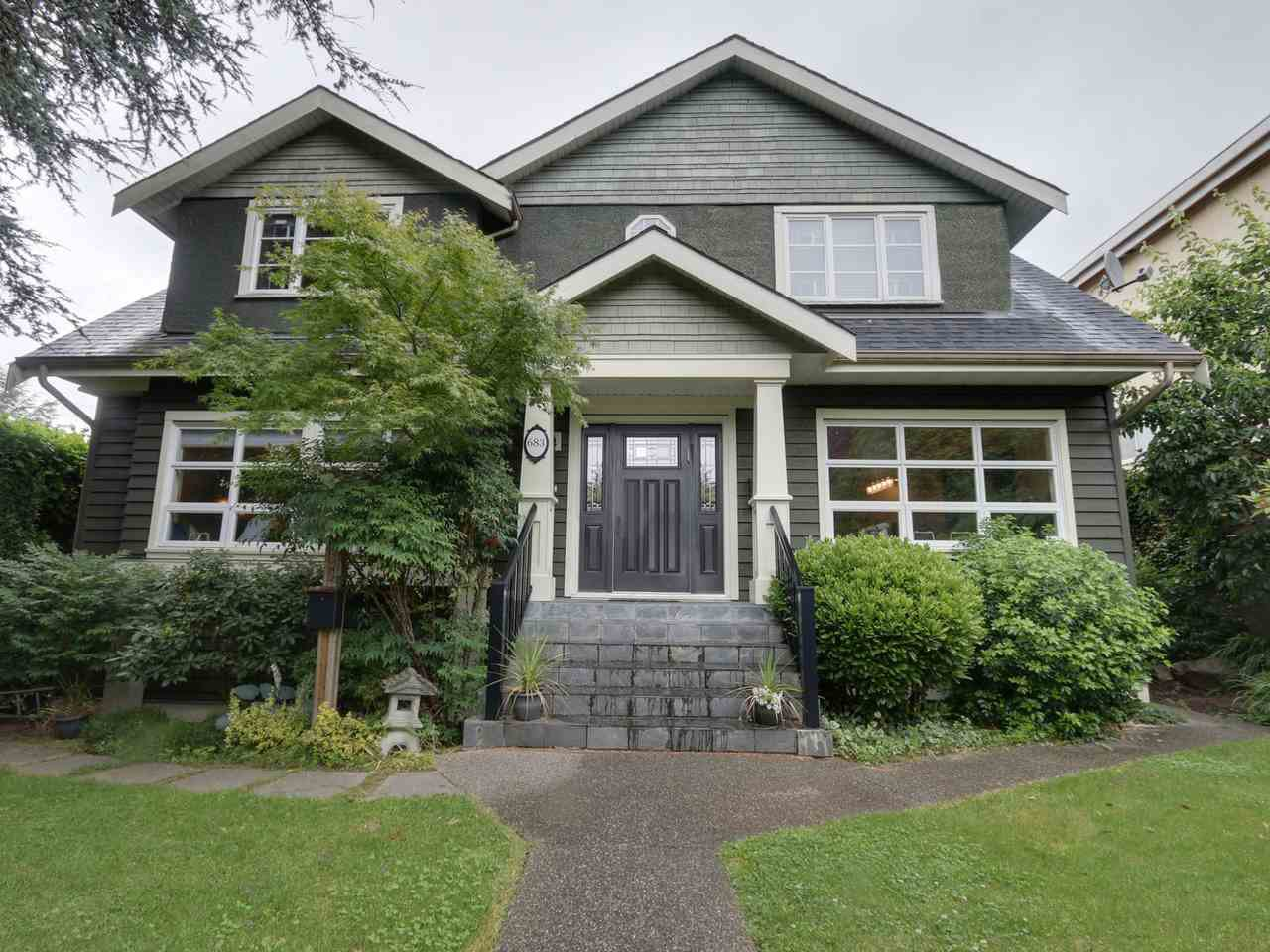 Main Photo: 683 W 28TH AVENUE in : Cambie House for sale : MLS®# R2087277