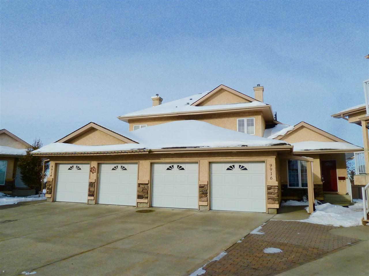 Main Photo: 9916 100 Avenue: Fort Saskatchewan House Half Duplex for sale : MLS®# E4216481