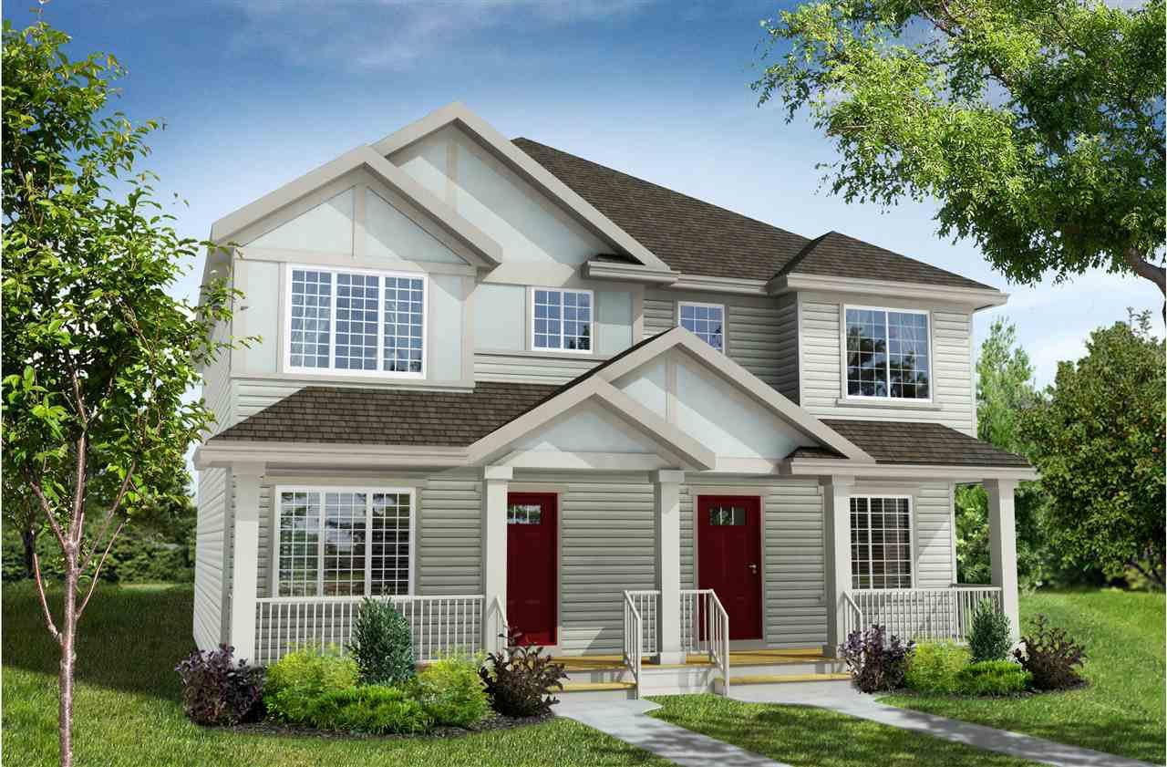 Main Photo: 4325 Cooke Lane in Edmonton: Zone 55 House Half Duplex for sale : MLS®# E4174983