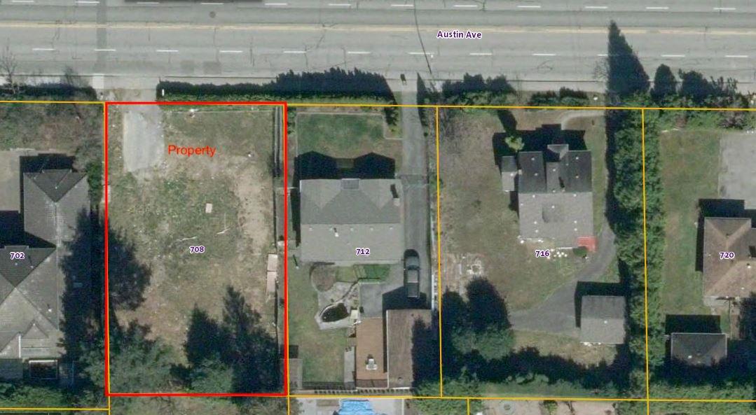 """Main Photo: 708 AUSTIN Avenue in Coquitlam: Coquitlam West Land for sale in """"Cariboo/Burquitlam"""" : MLS®# R2519050"""