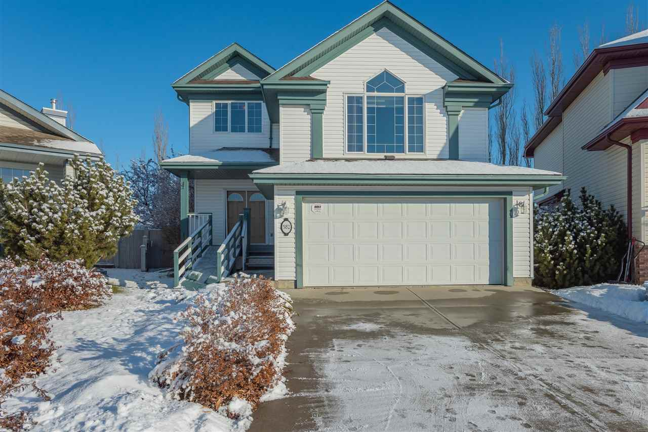 Main Photo: 582 Glenwright Crescent NW in Edmonton: Zone 58 House for sale : MLS®# E4180815