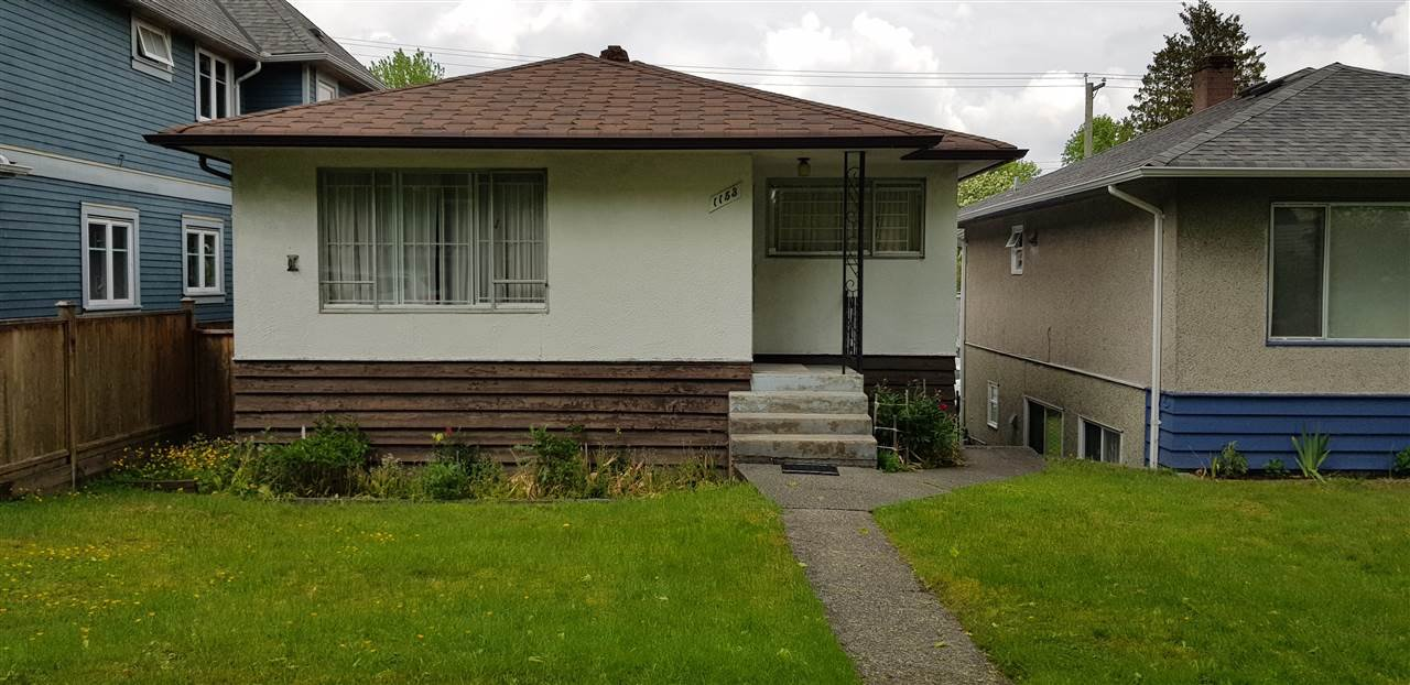 """Main Photo: 1153 E 11TH Avenue in Vancouver: Mount Pleasant VE House for sale in """"MOUNT PLEASANT"""" (Vancouver East)  : MLS®# R2456338"""