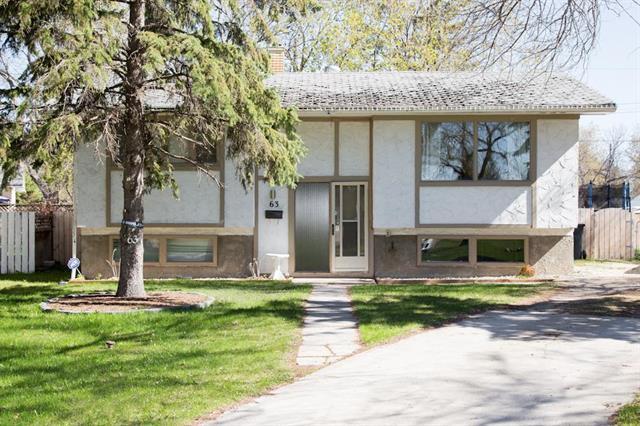 Main Photo: 63 Sage Crescent in Winnipeg: Crestview House for sale (5H)  : MLS®# 1912618
