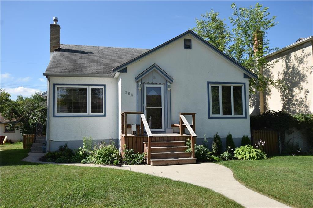Main Photo: 366 McAdam Avenue in Winnipeg: Residential for sale (4D)  : MLS®# 202018417