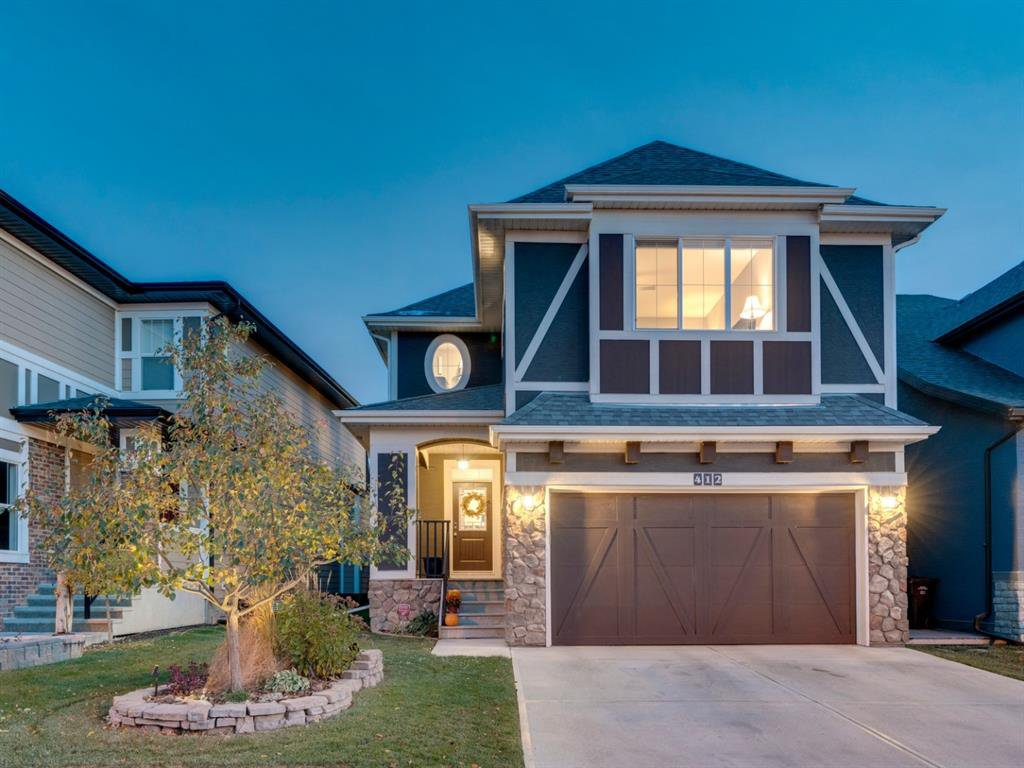 Main Photo: 412 Mahogany Boulevard SE in Calgary: Mahogany Detached for sale : MLS®# A1041931