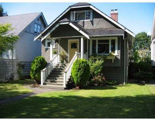 Main Photo: 3285 W 12TH AV in Vancouver: Kitsilano House for sale (Vancouver West)  : MLS®# V550471