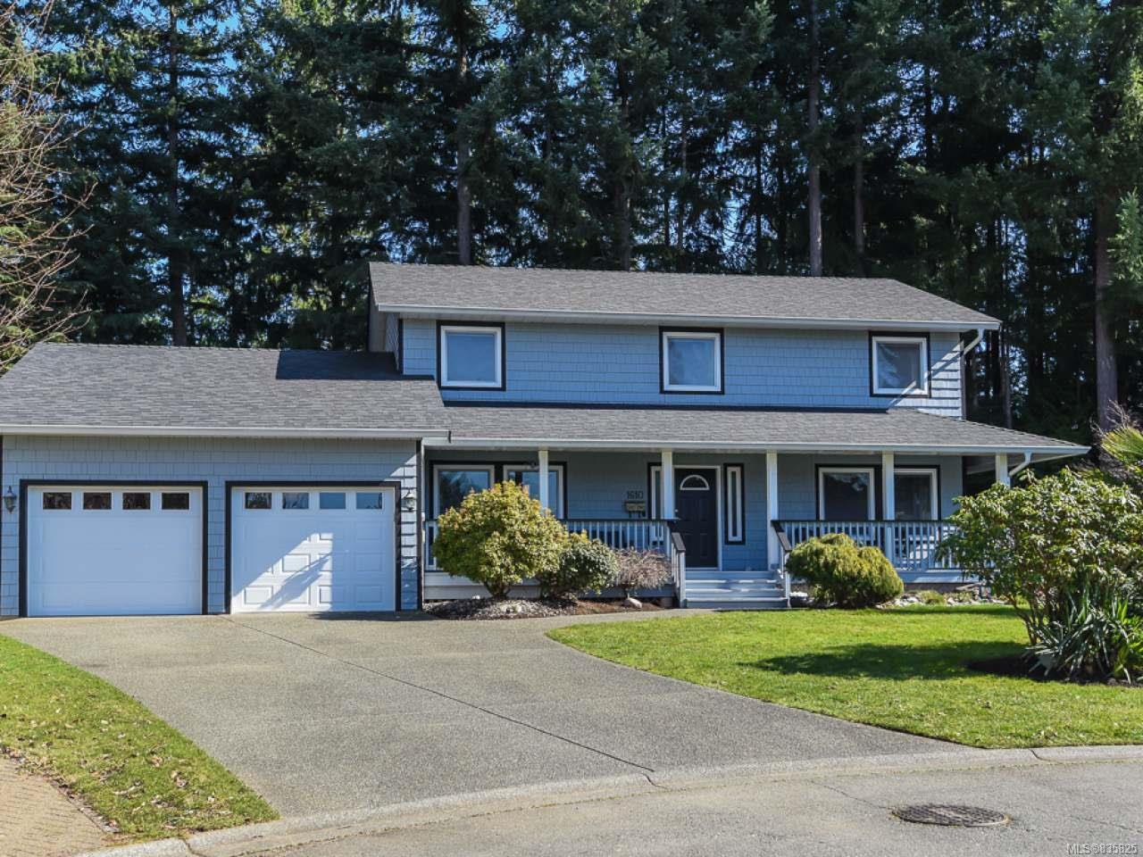 Main Photo: 1610 Kingsley Crt in COMOX: CV Comox (Town of) House for sale (Comox Valley)  : MLS®# 835825
