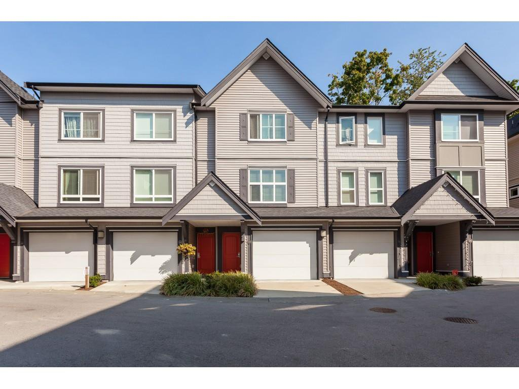"Main Photo: 53 14555 68 Avenue in Surrey: East Newton Townhouse for sale in ""SYNC"" : MLS®# R2494452"
