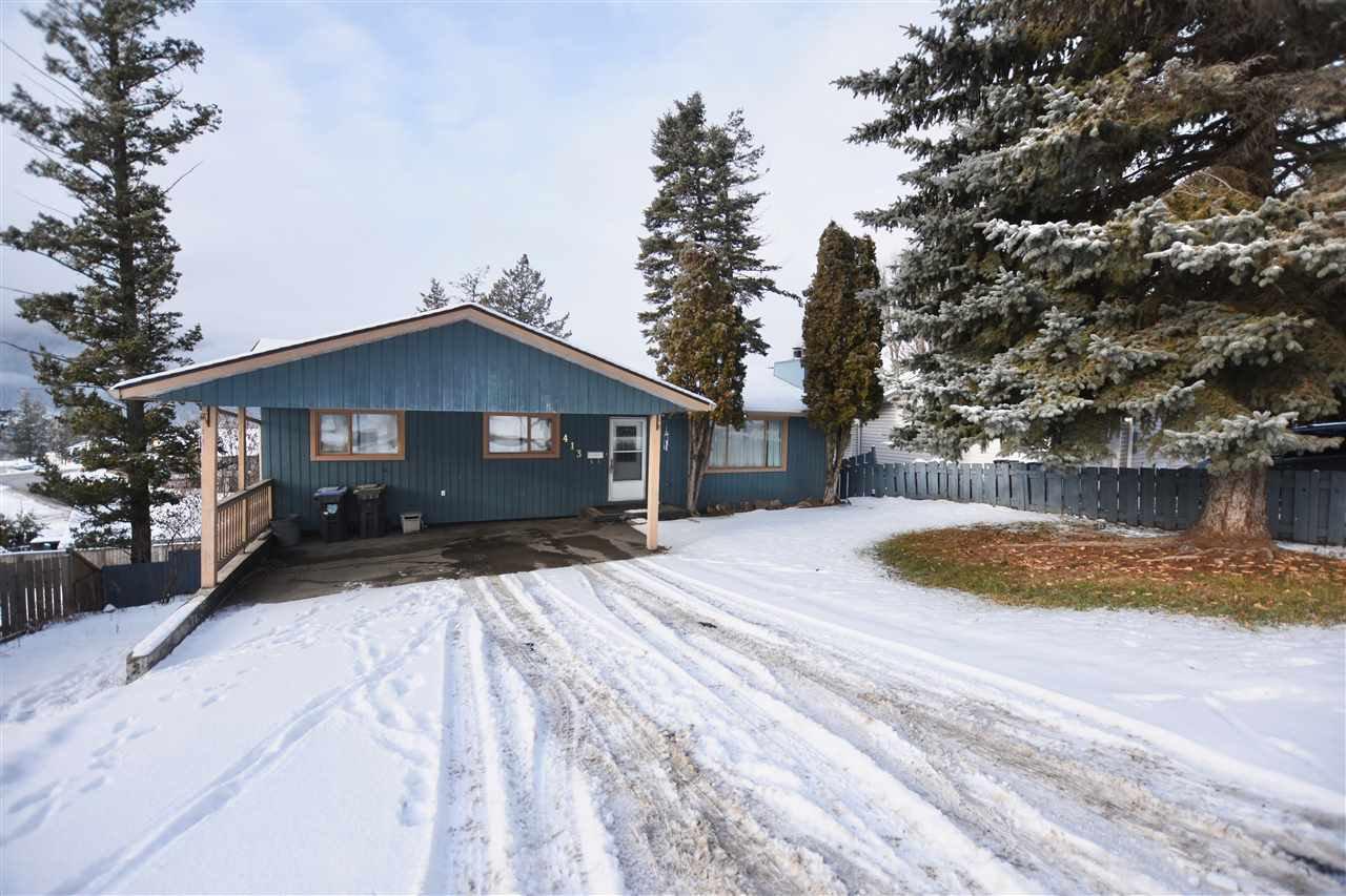 Main Photo: 413 MIDNIGHT Drive in Williams Lake: Williams Lake - City House for sale (Williams Lake (Zone 27))  : MLS®# R2425148