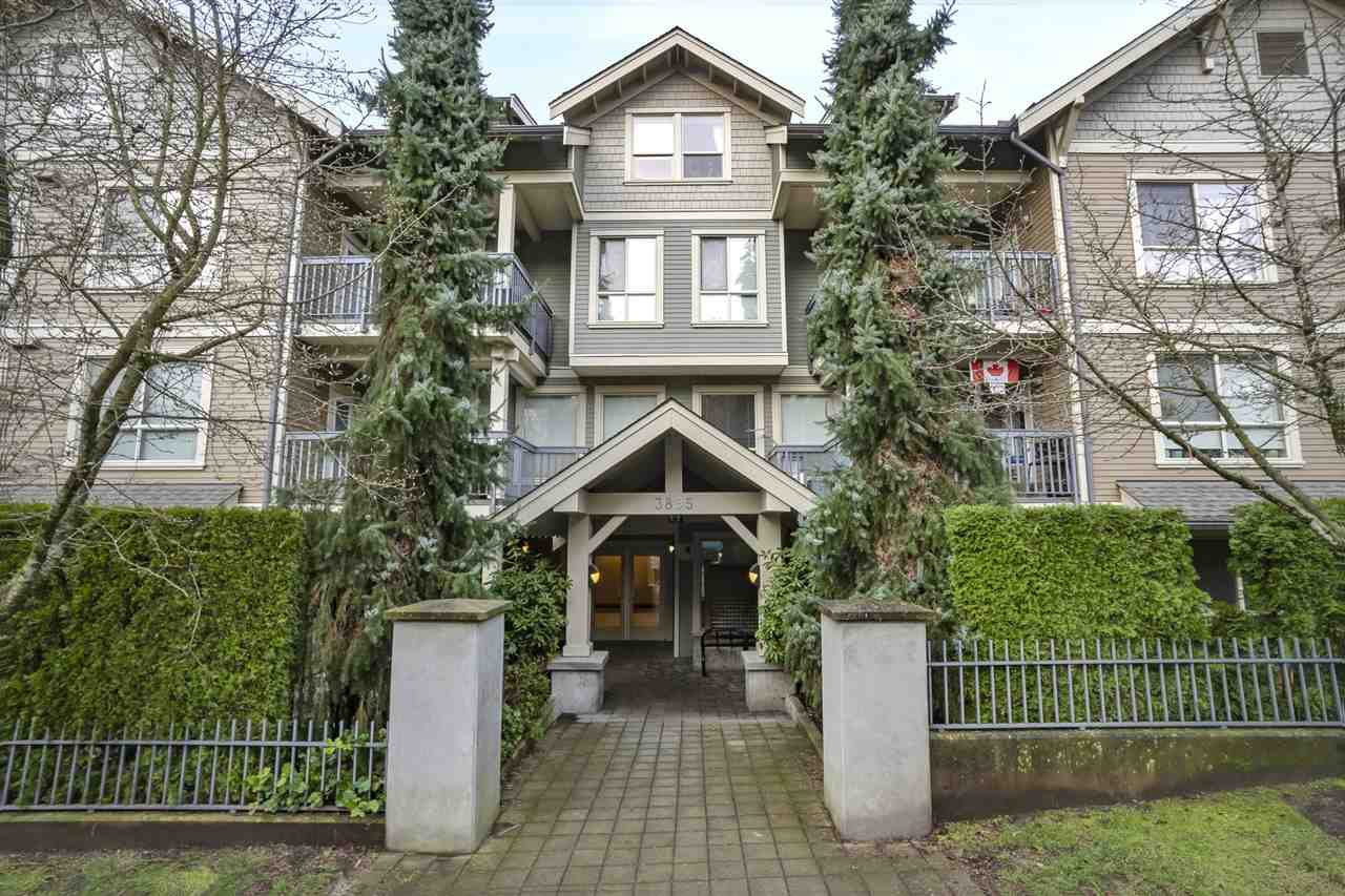 "Main Photo: 105 3895 SANDELL Street in Burnaby: Central Park BS Condo for sale in ""CLARKE HOUSE AT CENTRAL PARK"" (Burnaby South)  : MLS®# R2528254"