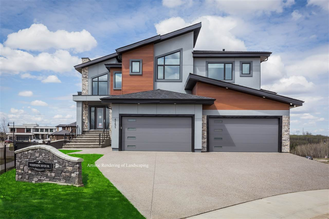 Main Photo: 4151 WHISPERING RIVER Drive in Edmonton: Zone 56 House for sale : MLS®# E4200148