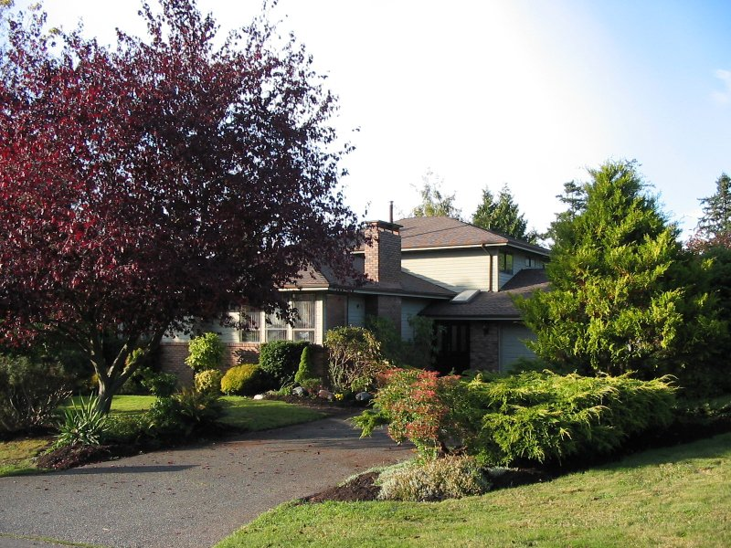Solid 3 bedroom home nestled in Stanley Park setting on half acre lot centrally located in preferred Ocean Park