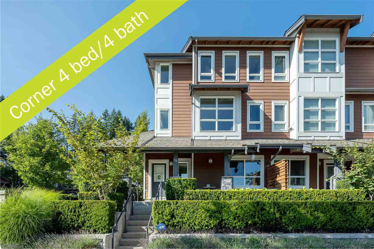 "Main Photo: 29 3431 GALLOWAY Avenue in Coquitlam: Burke Mountain Townhouse for sale in ""Northbrook"" : MLS®# R2484831"