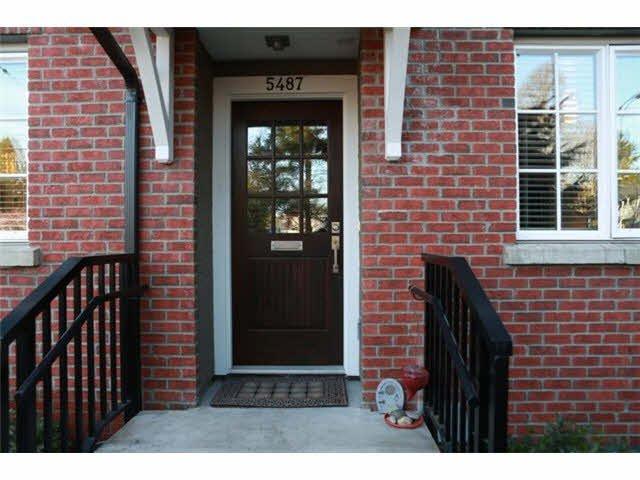 Main Photo: 5487 DUNBAR STREET in : Dunbar Townhouse for sale : MLS®# V1055189
