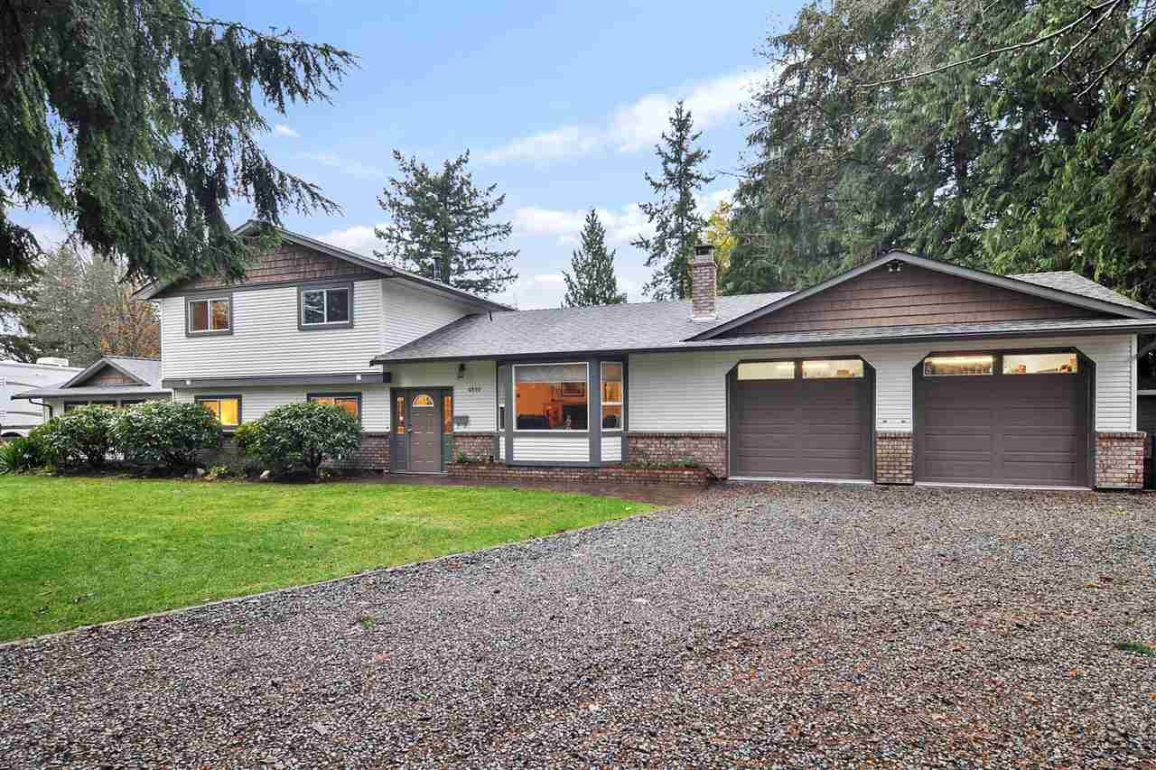 Main Photo: 4510 SADDLEHORN Crescent in Langley: Salmon River House for sale : MLS®# R2520613